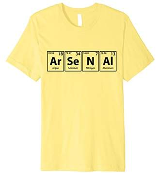Ar-Se-N-Al Periodic Table Elements Spelling T-Shirt