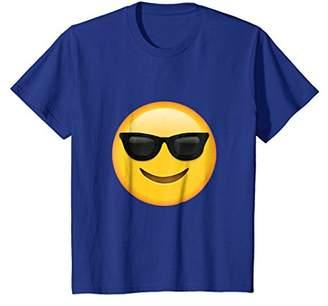 Glass Emoji Face T shirt Emoticon Glasses Face Smile T shirt