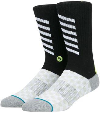 Reflective Detail Cotton Blend Socks $18 thestylecure.com