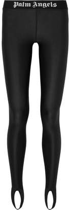 Palm Angels Stretch Stirrup Leggings - Black