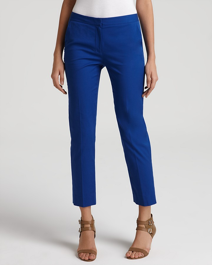 DKNY Ankle Length Skinny Pants