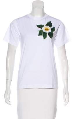 Oscar de la Renta 2018 Embellished T-Shirt
