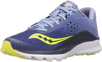 Saucony Kinvara 8 Running Shoes, Grey/tea/purple, 5.5 M M US Adult