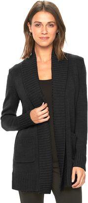 Women's Apt. 9® Shawl-Collar Open Cardigan $50 thestylecure.com