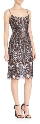 BCBGMAXAZRIA Urban Jungle Alese Lace Dress $398 thestylecure.com