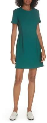 Theory Stretch Wool A-Line Dress