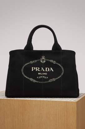 Prada canvas handbag