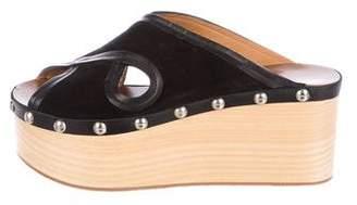 Isabel Marant Flatform Suede Sandals