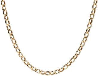 "Eterna Eternagold Gold 20"" Polished Oval Rolo Link Necklace, 14K 11.2g"