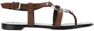 Giuseppe Zanotti Design oval buckle sandals