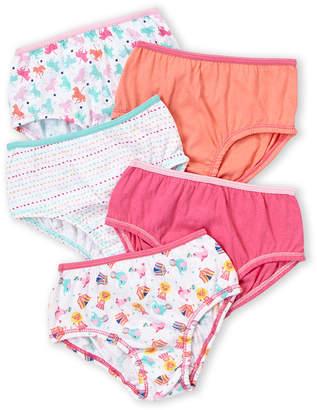 Rene Rofe Toddler Girls) 5-Pack Jackie Briefs