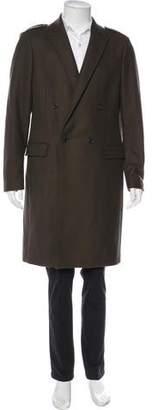 AllSaints Keen Double-Breasted Wool Coat