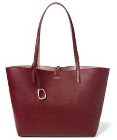 Lauren Ralph Lauren Reversible Faux Leather Tote