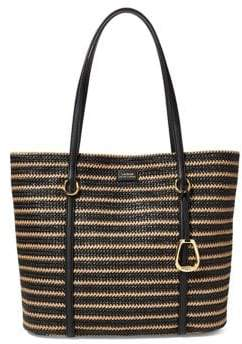 Lauren Ralph Lauren Medium Straw Tote