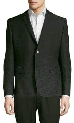 Versace Long-Sleeve Speckled Jacket