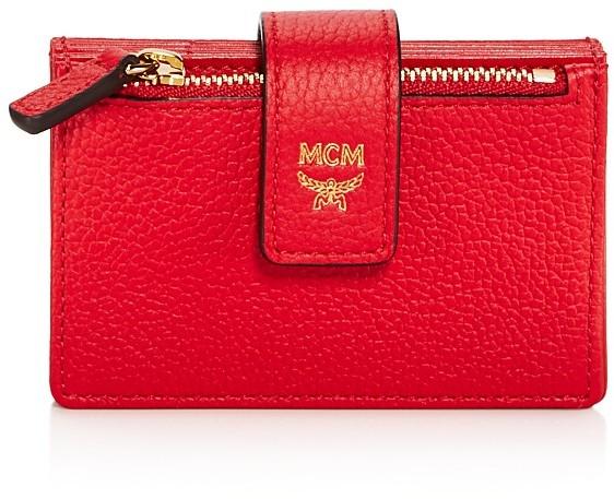 MCMMCM Milla Accordion Leather Card Case