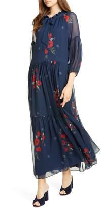 Joie (ジョア) - Joie Saffrona Floral Silk Maxi Dress