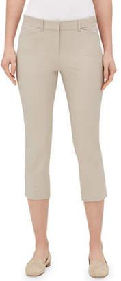 Lafayette 148 New York Manhattan Skinny-Leg Capri Pants