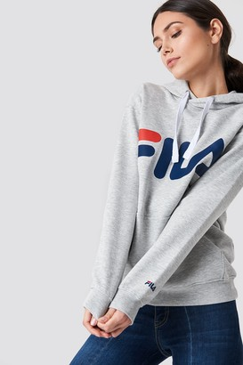 Fila Classic Logo Hoody Bright White