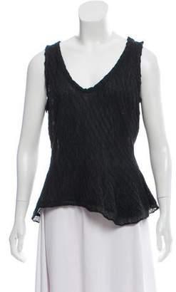 Nina Ricci Alpaca Knit Sleeveless Top