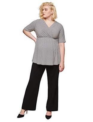 Motherhood Plus Size Secret Fit Belly Maternity Suit Pants -