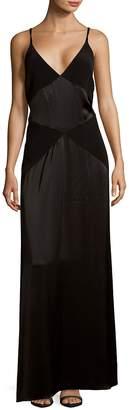 Zac Posen Women's Criss-Cross Strap Gown