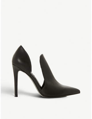 f8def029146 Steve Madden Dance SM cutout-side faux-leather court shoes