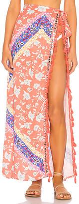 Lovers + Friends Lady Wrap Skirt