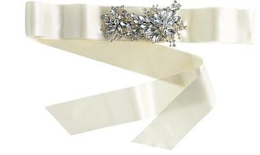 J.Crew Jeweled sash