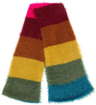 Faliero Sarti rainbow stripe scarf