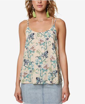 O'Neill Juniors' Whitman Strappy Printed Camisole