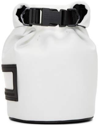 Maison Margiela (メゾン マルジェラ) - Maison Margiela ホワイト スモール メッセンジャー バッグ