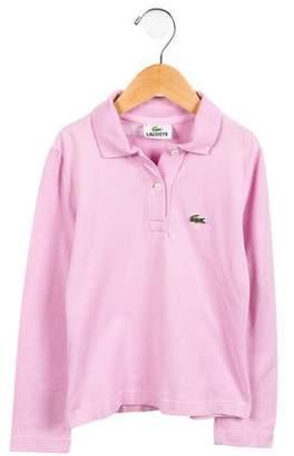 Lacoste Boys' Long Sleeve Polo Top