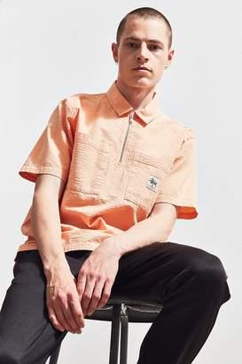 Stussy Seersucker Half-Zip Shirt
