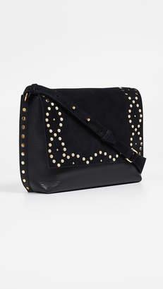 Isabel Marant Asli Studded Crossbody Bag