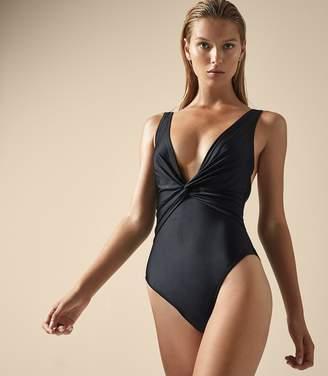 Reiss Como Twist Front Swimsuit