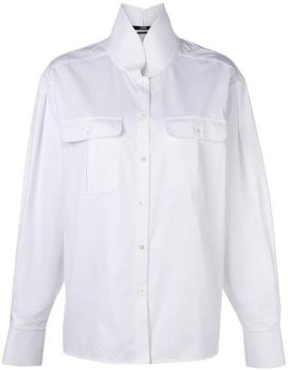 Karl Lagerfeld shirt with top stitching