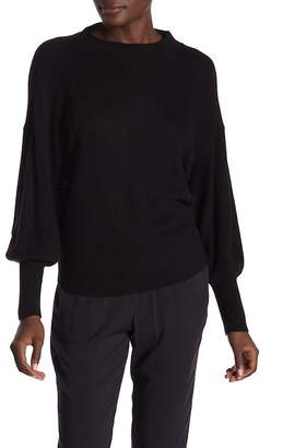 Michael Stars Dolman Sleeve Mock Neck Pullover