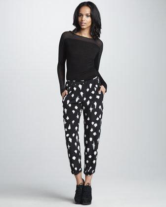 Graham & Spencer Starlight-Print Pants