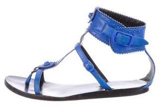 Balenciaga Arena Ankle Strap Sandals