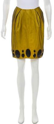 Zac Posen Silk Beaded Skirt w/ Tags