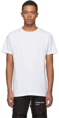 Off-White SSENSE Exclusive White 3D Diag T-Shirt