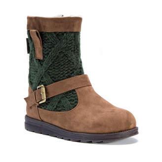 Muk Luks Womens Winter Boots Zip