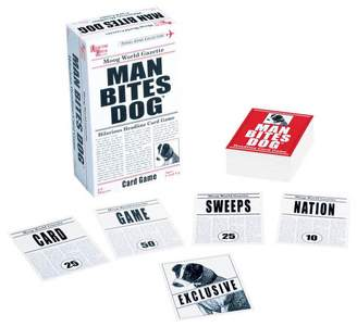 University Games Kohl's Man Bites Dog Card Game
