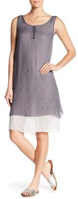 Couture Simply Layered Hem Tunic Dress