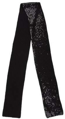 Michael Kors Embellished Cashmere Scarf