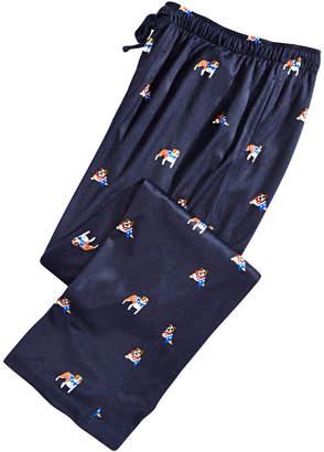 Club Room Men Dog-Print Pajama Pants