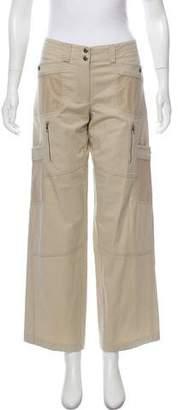 DKNY High-Rise Straight-Leg Cargo Pants