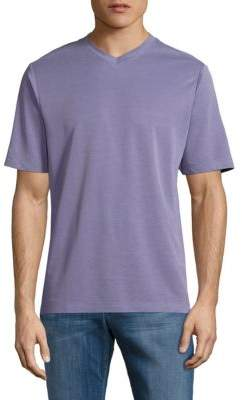 Saks Fifth Avenue Classic V-Neck Tee