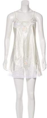 Natori Sleeveless Mini Dress
